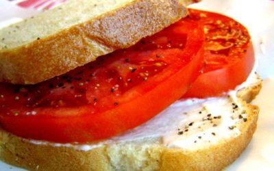 Tomato Sandwich Supper