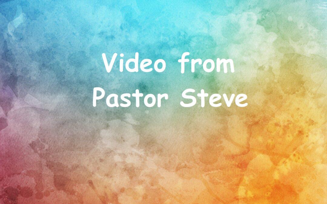 2020-06-17 – Worship Service Update